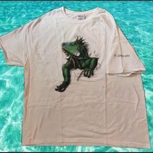 Vintage Double Sided Iguana Shirt